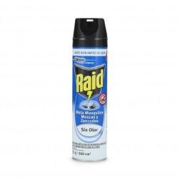 Insect Aer 360cc Mosc/mosquit/zanc/de Accion S/olor Raid