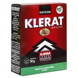 RATICIDA PELLET   50GR KLERAT