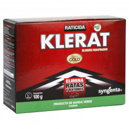 Raticida Bloque 100gr Klerat