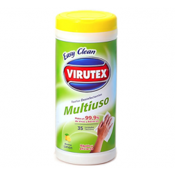TOALLA DESINF MULTIUSO EASY CLEAN VIRUTEX