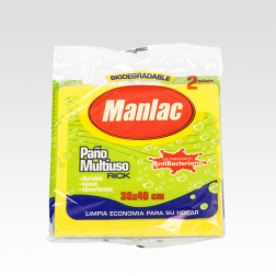 PAÑO RICK MULTIUSO x 2 MANLAC
