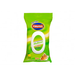 Toallas Desinfectante 50un Pouch Limon Virutex