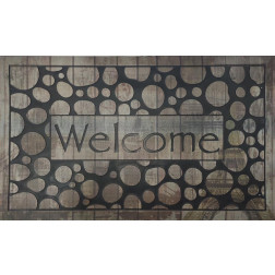 Limpia Pies 45*75cm Welcome Piedras Bighouse