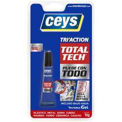 ADHESIVO/SELLADOR 10GR TOTAL TECH TRIACTION CEYS