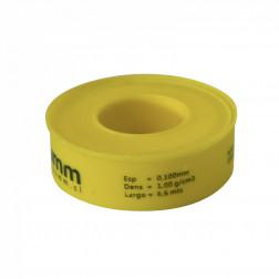 Teflon P/gas 1'' Amarillo Taumm