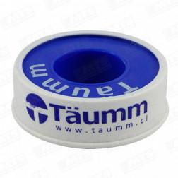TEFLON P/AGUA DOMESTICO 1/2*10MT TAUMM