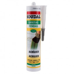 SELLADOR ACRIL 300ML BCO PINTABLE SOUDAL