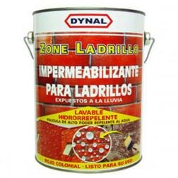 Impermeabilizante Acril. 1gl Zone Ladrillo Rojo Dynal