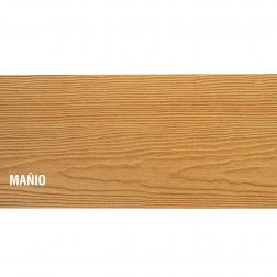 SIDING FIBROCEMENTO MADERA MAÑIO 6 X 19 X 3660 MM