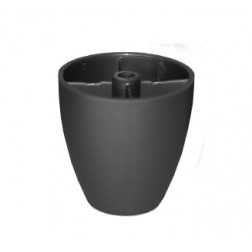 Pata P/mueble 50mm Negro Dvp