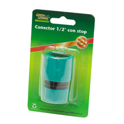 CONECTOR RAPIDO 1/2 C/STOP GREEN SEASONS