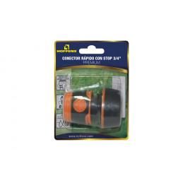 Conector Rapido 3/4 C/stop Premium Hoffens