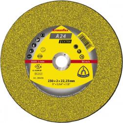 """DISCO C/METAL 9"""" CURVO A24 EXTRA KLINGSPOR"""