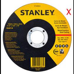 Disco C/ac * Inox 9 Stanley