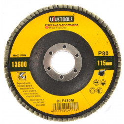 Disco Lija Flap Madera 41/2 P80 Dlf480m Uyustools
