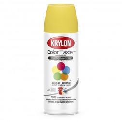 Spray Esmalte Amarillo Vivo Secado Rap. Krylon