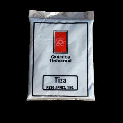 Tiza Blanca 1kg Quimica Universal