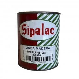 Masilla P/automovil Blanca 1/4gl P/pistola Sipalac