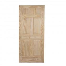 Puerta Acc. Colonial 0.85x2.0mt 6p