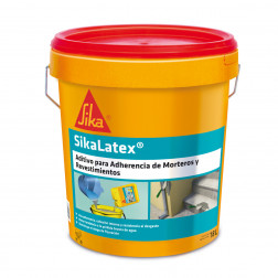 Sika Latex Aditivo Adherencia Tineta 18lt