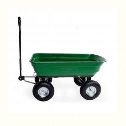 Carro Tolva Plastico 93x051x051 270kg Verde