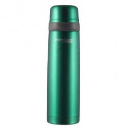 Termo Agua 0.5lt Flat Top Acero Verde Thermos
