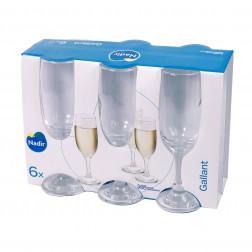 Vaso Set 6un Champagne Gallant