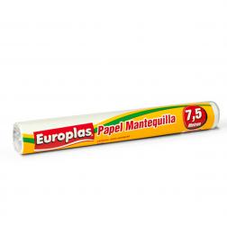 Papel Mantequilla 7.5mt Europlas