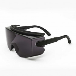 Lente D/seguridad Gris Optico Top Gun Steelpro