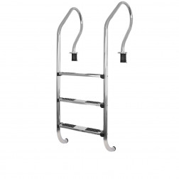 Escalera 3 Peld 540mm*1555 P/piscina Metalico Vulcano