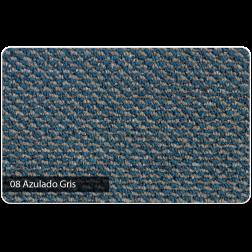 ALFOMBRA BOUCLE 3.75MT TOLEDO AZULADO/GRIS