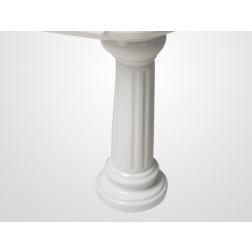 Pedestal Colonial Blanco Fanaloza