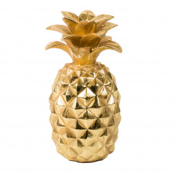 PiÑa Decorativa Dorada 29cm Bighouse