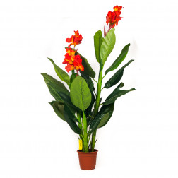 PLANTA ARTIFICIAL 1.6MT CON FLOR BIGHOUSE