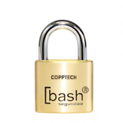 Candado Bce Liso C/cobre 30mm Bash