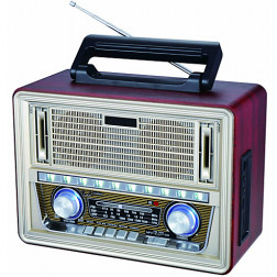RADIO PORTATIL RETRO BT-211 BLUETOOTH GLC