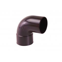 Codo 87.5 Mh P/tubo Bajada P25 Marron Vinilit