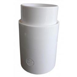 Copla P/tubo Bajada Aquapluv 88mm Blanco Tigre