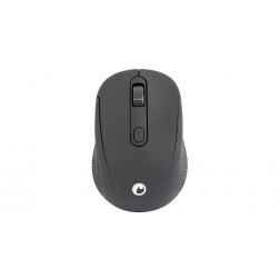 Mouse Inalambrico Negro C Pilas Fiddler