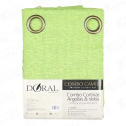 CORT COMBO CAMILA 8PZAS ARGOLLA DORAL