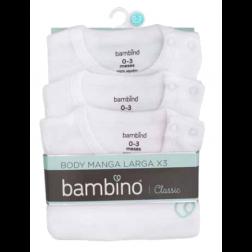 BODY BLANCO 3UN BAMBINO