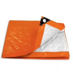 Lona Multiuso 4x5 Naranja Ojetillos  Lp-45n Pretul