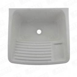 Lavadero Plastico 15lt Blanco