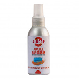 Alcohol En Spray 140ml Nanocobre Aircop