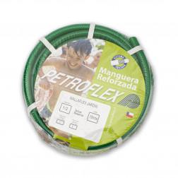 Manguera J. 1/2'' Mallaflex Verde Con Acc. (rollo 15mt) Petroflex
