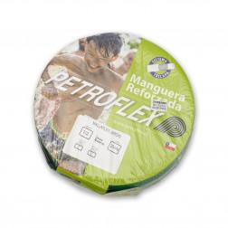 Manguera J. 1/2'' Mallaflex Verde Con Acc. (rollo 20mt) Petroflex