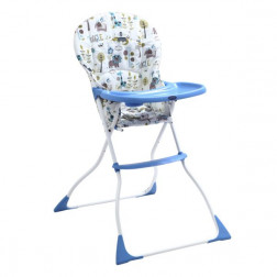 Silla De Comer Arti Azul Bebesit