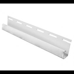 PERFIL J 1/2 3.81MT P/SIDING PVC BLANCO (40UN*CJ)
