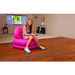 SILLON INFLABLE 84*99*76 CM COLORES INTEX