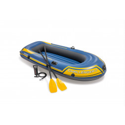 BOTE INFLABLE 236*114*41CM SET CHALLENGER 2 INTEX